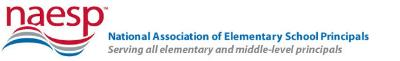 Logo of the National Association of Elementary School Principals, which Suzanne Klein's  NAESP conference workshop in its blog.