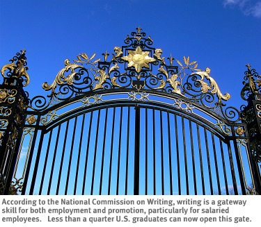 Click to see image and report from the National Commission on Writing.