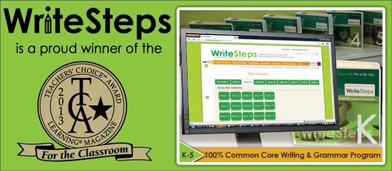 Preliminary research on WriteSteps Common Core writing lessons for elementary children showed significant improvement in 47 of 48 classes participating.